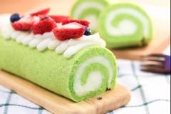 菠菜山药蛋糕卷 宝宝辅食食谱
