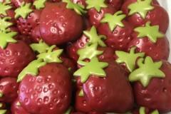 草莓卡通馒头