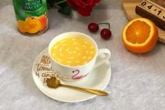 黄桃脐橙酸奶昔