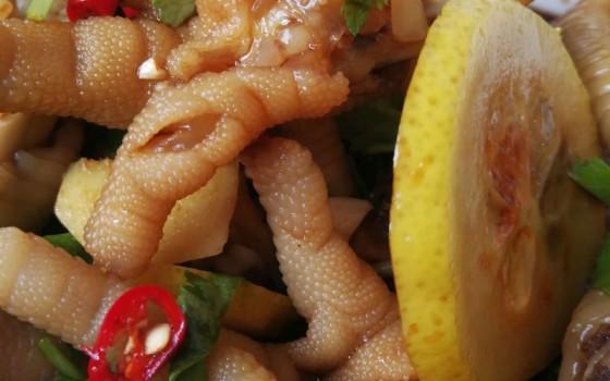泰式柠檬鸡爪