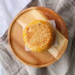 辅食-南瓜豆沙饼