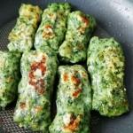 簡化版菠菜卷餅