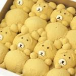 肥嘟嘟的小熊挤挤面包