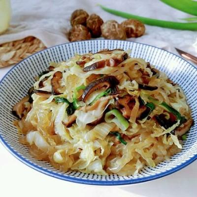 白菜香菇蚝油粉