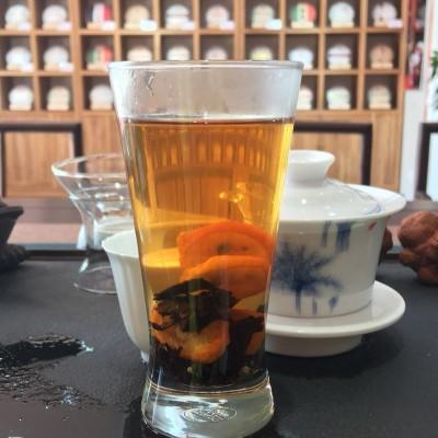 金桔普洱茶