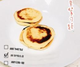 电饼铛酸奶松饼