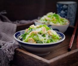 圆白菜炒米粉
