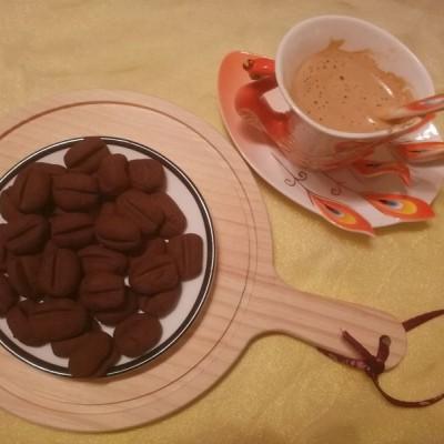 咖啡可可饼干