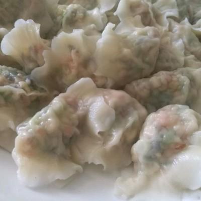 蒜苔餡餃子