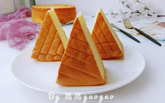 八寸橙汁弹弹弹蛋糕#松下多面美味#