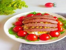 减脂餐-牛排蔬果沙拉