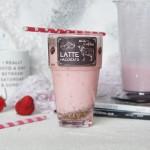 奇亚籽草莓奶昔#松下多面美味#