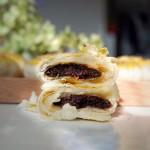 芝麻椒盐牛舌饼(不用醒面,不用揉出膜)#松下多面美味#