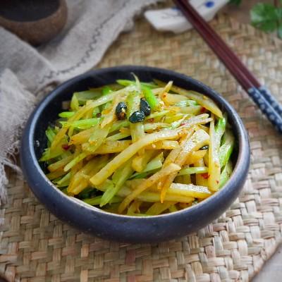 豉香芹菜土豆条