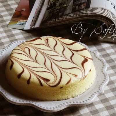 椰香千叶纹蒸蛋糕