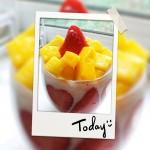 水果燕麦酸奶杯