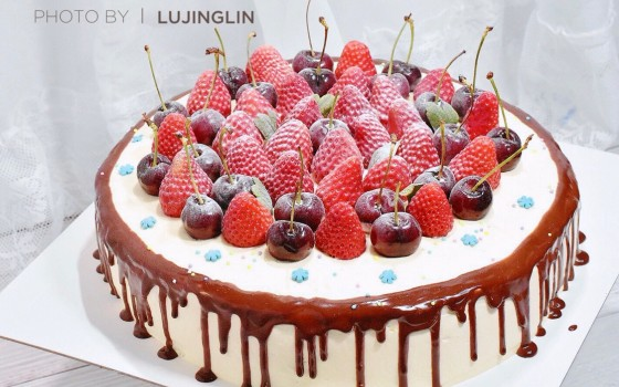 戚风生日蛋糕