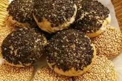 黑芝麻油酥烧饼