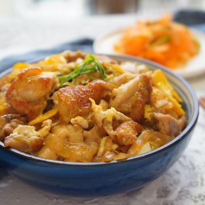 亲子丼(鸡肉饭)-20分钟超快料理