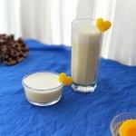 姜汁黄桃奶昔(保健又美味的女神饮品)