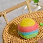彩虹蛋黄酥#松下多面美味#