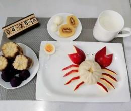 螃蟹包子(童趣早餐)