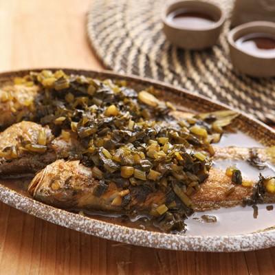 小黄鱼这样烧超级下饭——雪菜小黄鱼