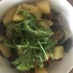 土豆香菇炖排骨