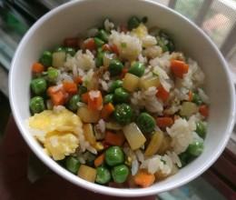 妈妈的菜之『彩蔬炒饭』
