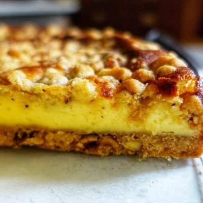 脆皮奶酥芝士蛋糕【安卡西厨】