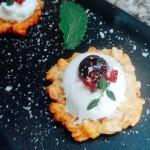 蓝莓燕麦Q挞