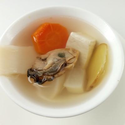 補鈣食譜-三白牡蠣湯