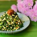 大蝦醬拌熏干馬蘭頭