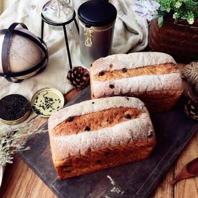 雙紅伯爵巧克力面包