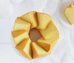 南瓜小米戚风蛋糕