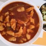 番茄紅湯龍利魚火鍋