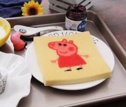 社会人小猪佩奇转印蛋糕