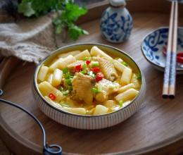 酸汤藕带焖鸡翅