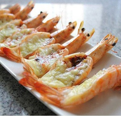 黑椒芝士虾