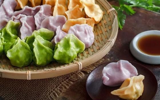 水饺的包法