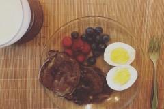 可可粉Pancake小松饼