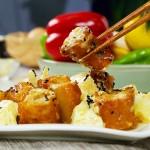 戴式菠萝油条虾
