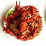 小龙虾蒜蓉