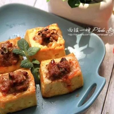 空氣炸鍋食譜-釀豆腐