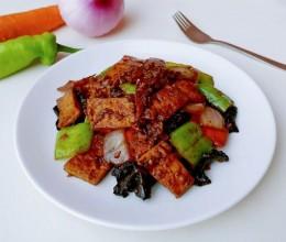 孜洋椒胡酱豆腐