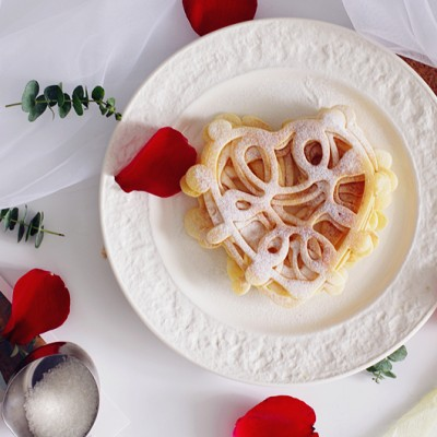 網紅蕾絲愛松餅