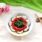 雪菜蒸鱼片