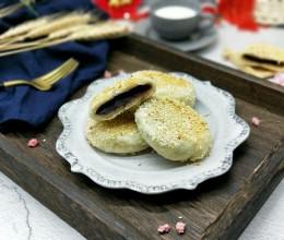 芝麻豆沙饼