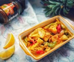泰式菠萝咖喱鸡
