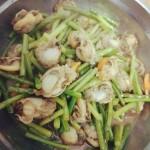 蒜苔扇贝肉